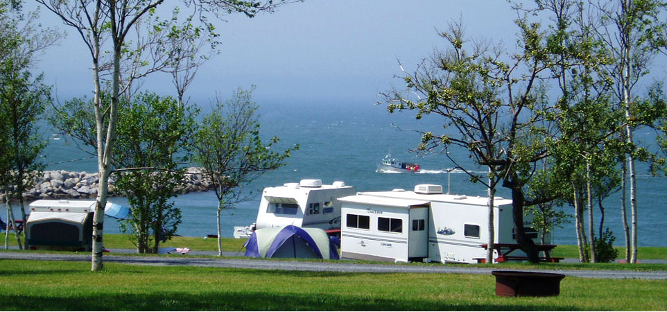 Cove Oceanfront Campground Home